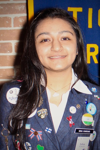 Isha Kakkad, Youth Exchange Student