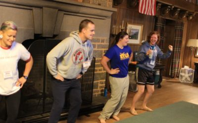 Alison Stone and Taylor Browning: Rotary Youth Leadership Academy