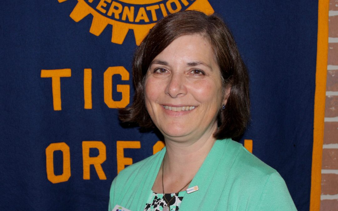 loni sanders inducted into tigard rotary club | rotary club